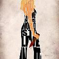 Buffy the Vampire Slayer Print by Ayse Deniz