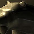 Bull Market Bronze Casting Contrast by Allan Swart
