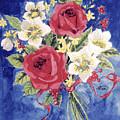 Bunch Of Flowers by Alban Dizdari
