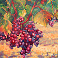 Bunch Of Grapes by Carolyn Jarvis
