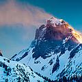 Burning Peak by Inge Johnsson