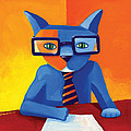 Business Cat by Mike Lawrence