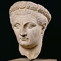 Bust Of Emperor Claudius by Anonymous