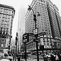Busy Traffic Junction Of West 34th Street St And Broadway With Empire State Building Shrouded Mist by Joe Fox