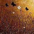 Butterflies Landscape by Carmen Guedez
