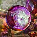 Butterfly Garden Globe by Robin Moline