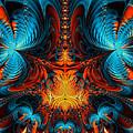 Butterfly Plasma  by Ian Mitchell