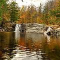 Buttermilk Falls by Dennis Clark