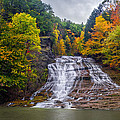Buttermilk Falls Print by Mark Papke