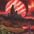Cabernet Wine Country Fantasy by Stu Shepherd