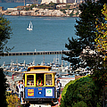 Cable Car In San Francisco by Brian Jannsen
