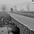 Cades Cove Black And White by Frozen in Time Fine Art Photography