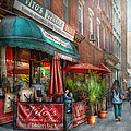 Cafe - Hoboken Nj - Vito's Italian Deli  by Mike Savad