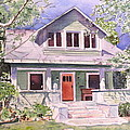 California Craftsman Cottage by Patricia Pushaw