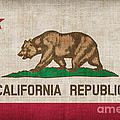 California State Flag by Pixel Chimp
