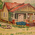 Calvin Baber House by Lynn Beazley Blair