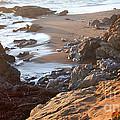 Cambria Coastline Print by Michael Rock