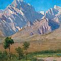 Camp Independence Colorado by Albert Bierstadt