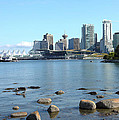 Canada Place And The Vancouver Bc Skyline Canada. by Gino Rigucci