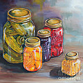 Canning Jars by Kristine Kainer