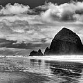 Cannon Beach On The Oregon Coast by David Patterson