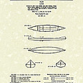 Canoe 1963 Patent Art by Prior Art Design