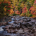 Canyon Color Rushing Waters by Jeff Folger