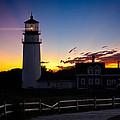 Cape Cod Light Print by Bill  Wakeley