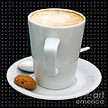 Cappuccino With An Amaretti Biscuit by Terri Waters