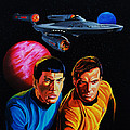 Captain Kirk And Mr. Spock by Robert Steen