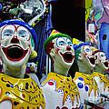 Carnival Clowns by Kaye Menner