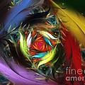 Carribean Nights-abstract Fractal Art by Karin Kuhlmann