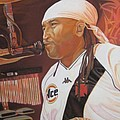 Carter Beauford At Red Rocks by Joshua Morton