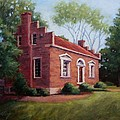 Carter House in Franklin Tennessee Print by Janet King