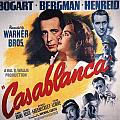 Casablanca in Color Print by Nomad Art And  Design