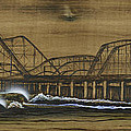 Casino Pier Tribute Poster by Ronnie Jackson