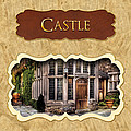 Castle Button by Mike Savad