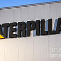 Caterpillar Sign Picture Print by Paul Velgos