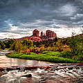 Cathedral Crossing Red Rock by Linda Pulvermacher