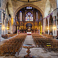 Cathedrale Saint-etienne Interior / Cahors by Barry O Carroll