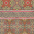 Ceiling Arabesques From The Mosque Of El-bordeyny by Emile Prisse d Avennes