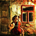 Cellist By Night