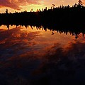 Center Pond Baxter State Park by Tim  Canwell