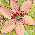 Ceramic Flower 2 by Anna Skaradzinska