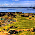 Chambers Bay Golf Course II by David Patterson