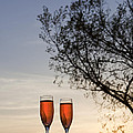 Champagne For Two by Kay Pickens