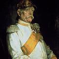 Chancellor Otto Von Bismarck by Franz Seraph von Lenbach