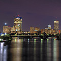 Charles River Reflections - Boston Poster by Joann Vitali