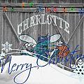 Charlotte Hornets by Joe Hamilton