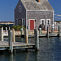 Charming Edgartown Harbor  by Juergen Roth